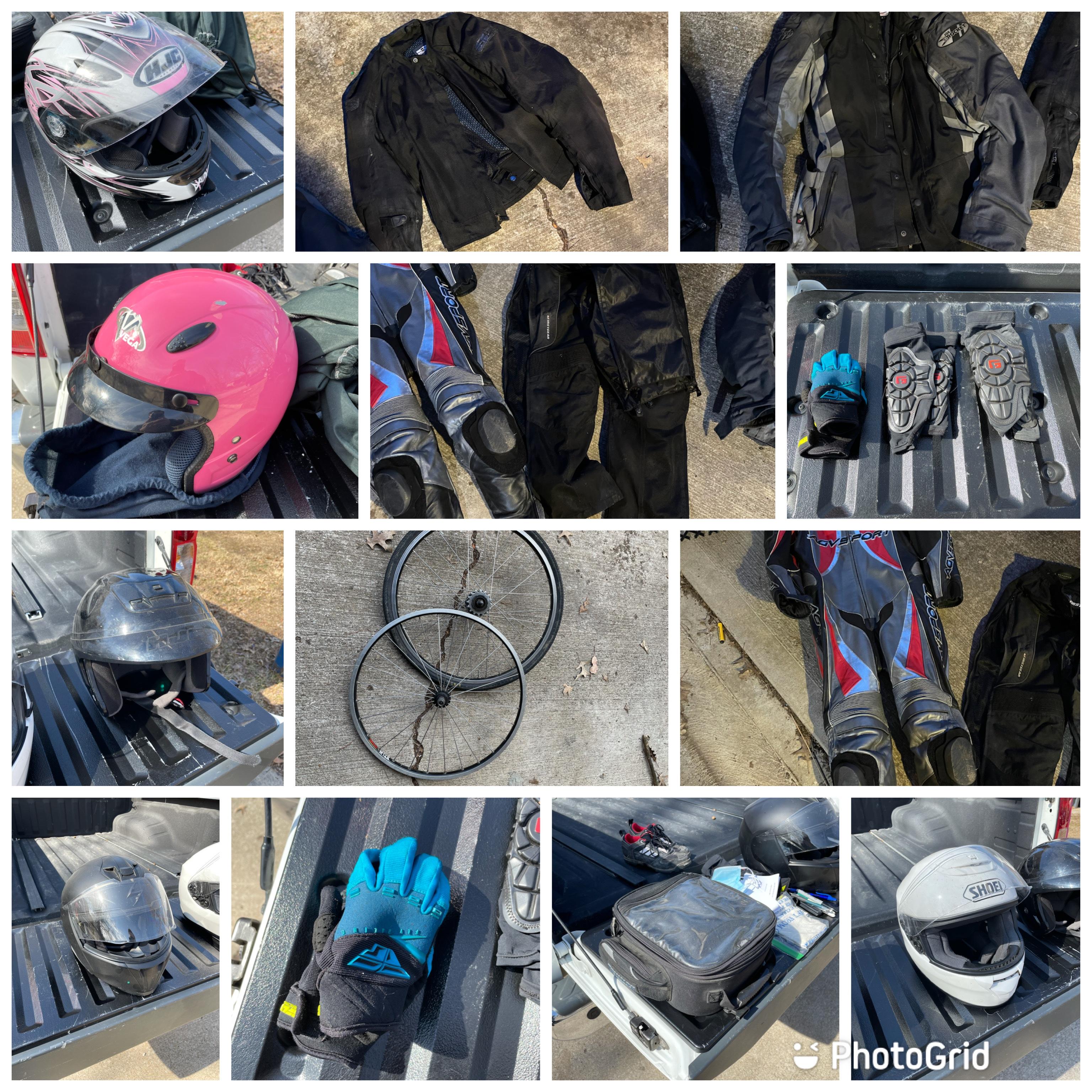 Goodbye Motorcycle Gear